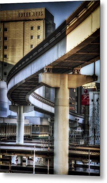 Tachikawa Monorail I Metal Print by Rscpics