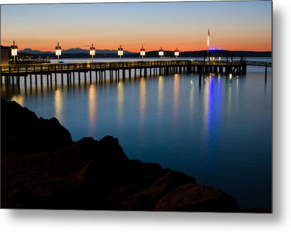 Tacoma Sunset Metal Print