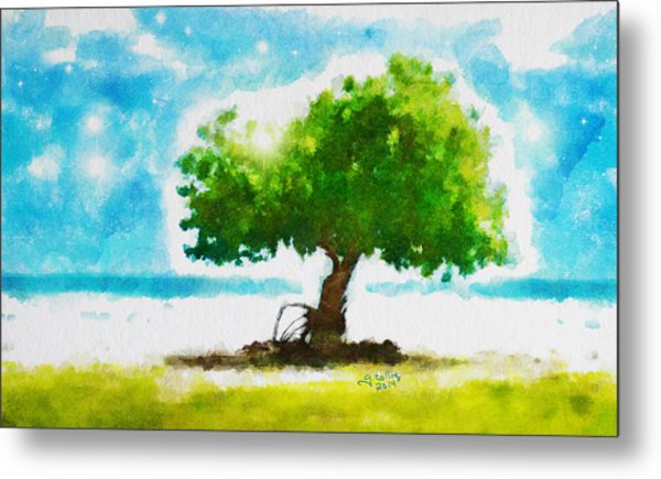 Summer Magic Metal Print