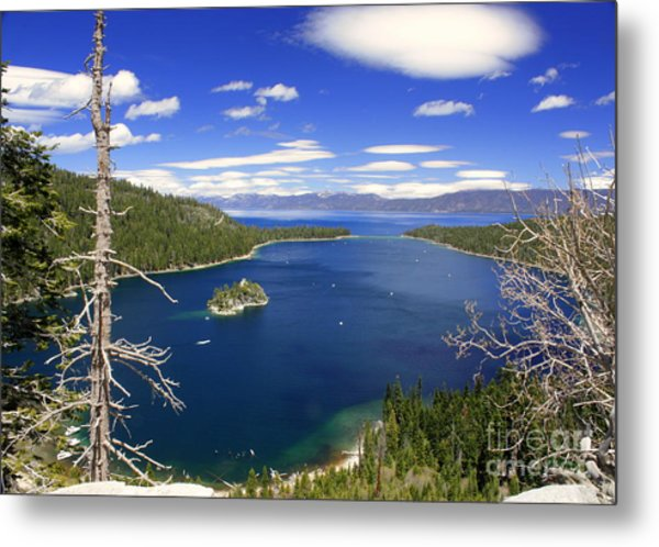 Tahoe's Emerald Bay Metal Print
