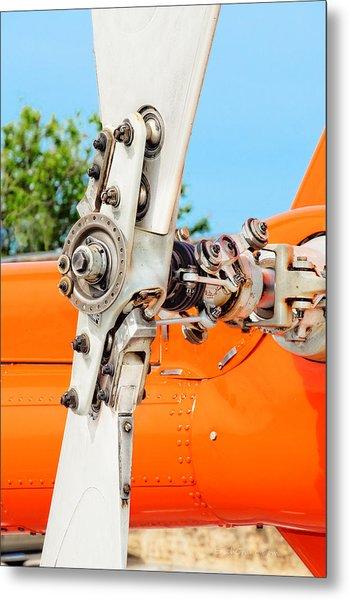 Tail Rotor Metal Print