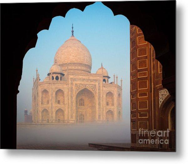 Taj Mahal Dawn Metal Print
