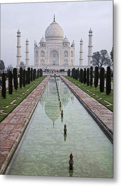 Taj Mahal Early Morning Metal Print