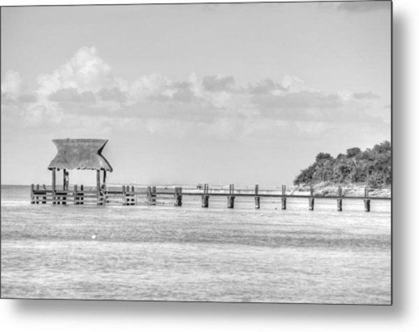 Take A Long Walk Off A Short Pier Metal Print