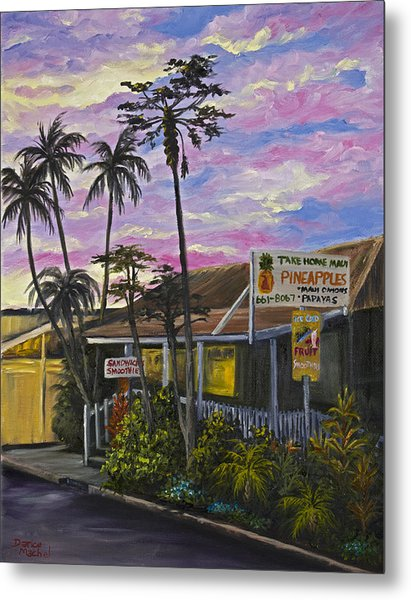 Take Home Maui Metal Print