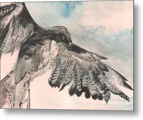 Take Wing Metal Print