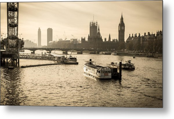 Tale Of Two Cities Metal Print