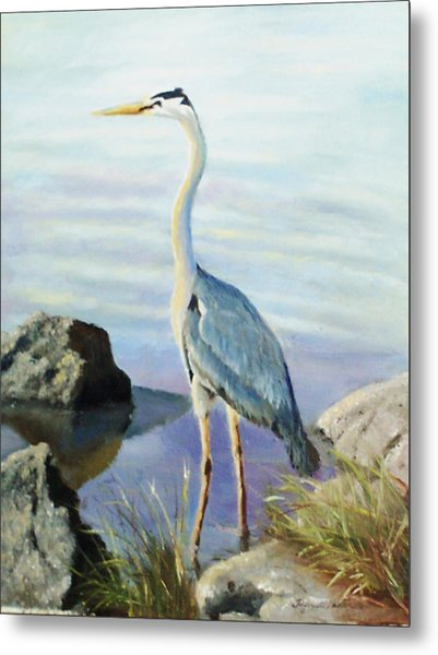 Tall Fellow Metal Print