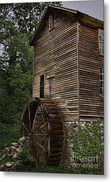 Tall Mill Metal Print