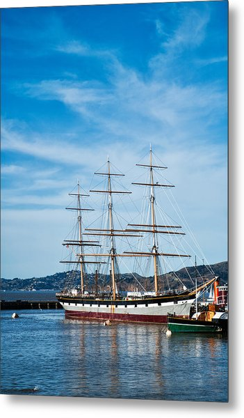 Tall Ship Balclutha San Francisco Metal Print