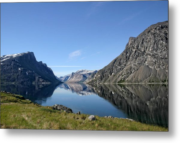 Tallek Arm Metal Print