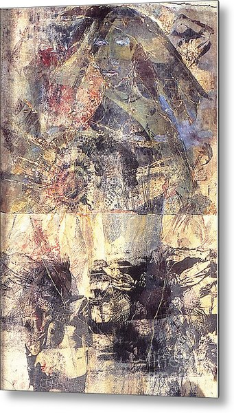 Tamara Metal Print by Charles B Mitchell