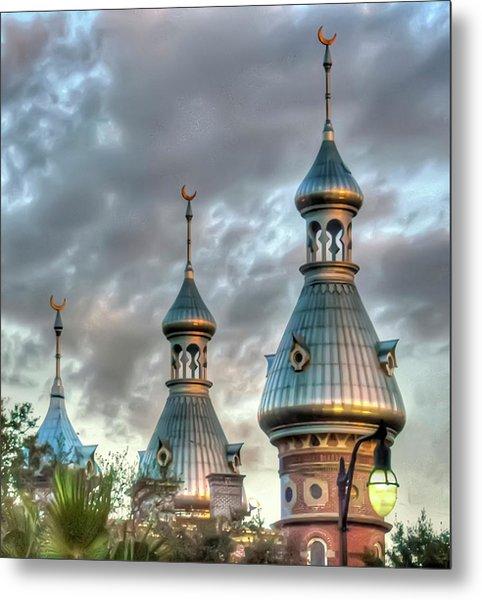 Tampa University Minarets Metal Print