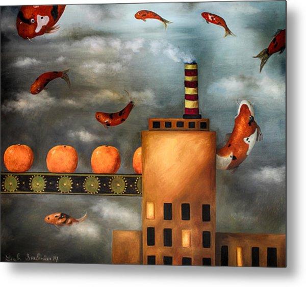 Tangerine Dream Edit 2 Metal Print