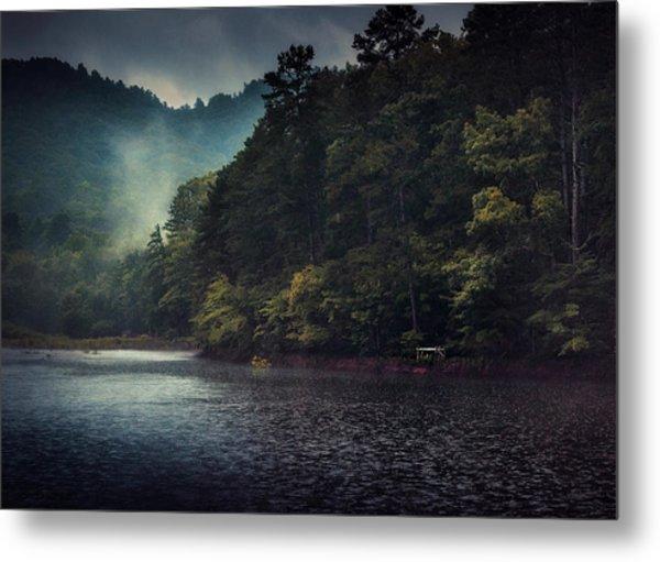 Tanglewood Lake Metal Print by William Schmid