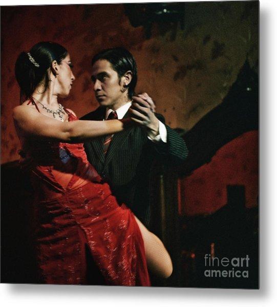 Tango - The Passion Metal Print