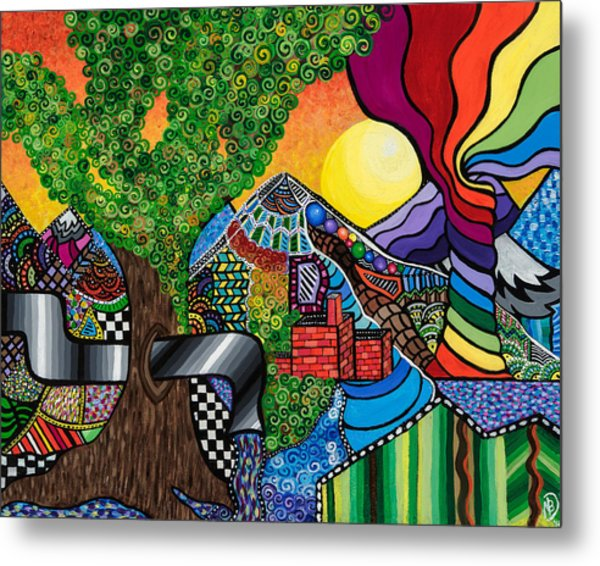Tantalizing Tree Metal Print