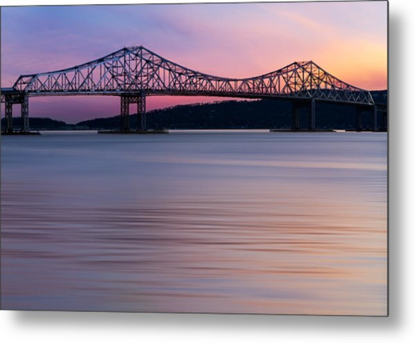 Tappan Zee Bridge Sunset Metal Print