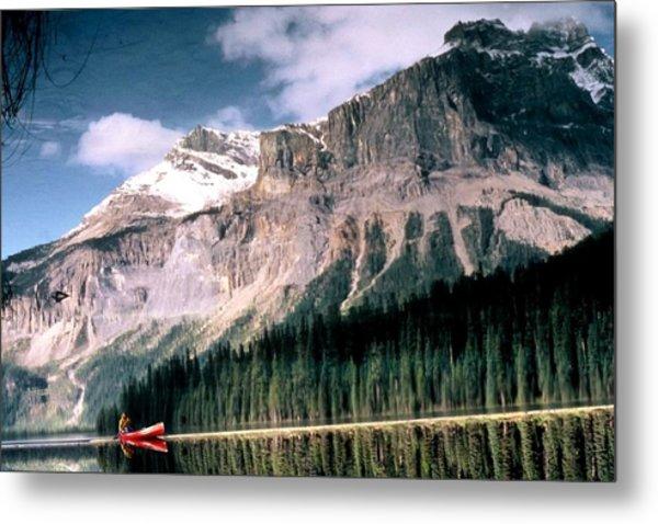 Tranquility...emerald Lake Canada Metal Print