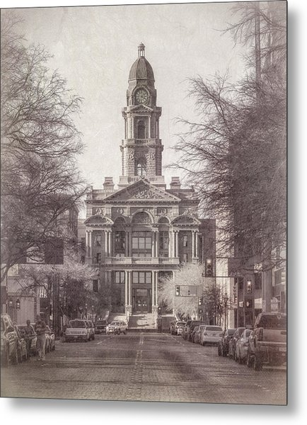 Tarrant County Courthouse Metal Print