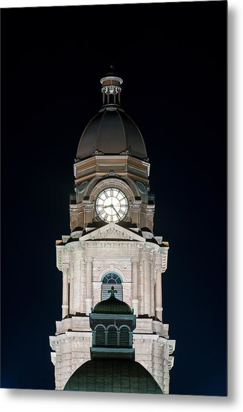 Tarrant County Courthouse V2 020815 Metal Print
