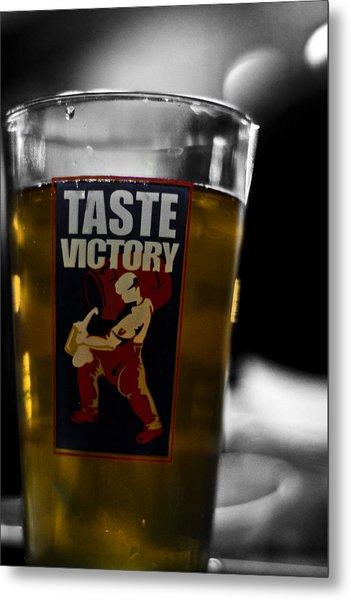 Taste Victory Metal Print by Zachary Hitchcock