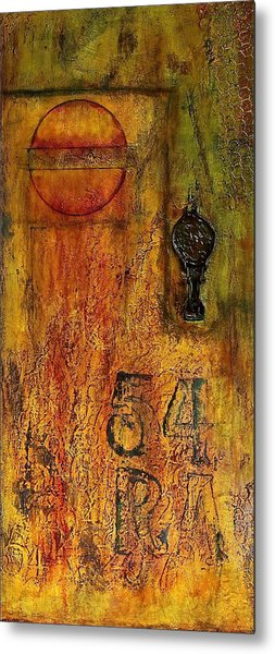 Tattered Wall  Metal Print