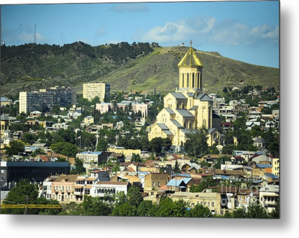 Tbilisi Metal Print by Andrey Tovstyzhenko