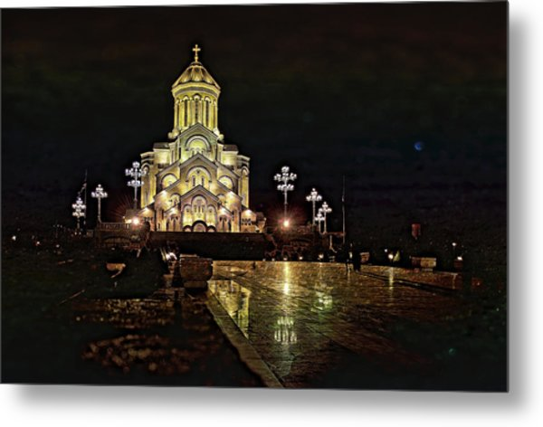 Tbilisi Church Metal Print