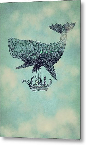 Tea At Two Thousand Feet Metal Print