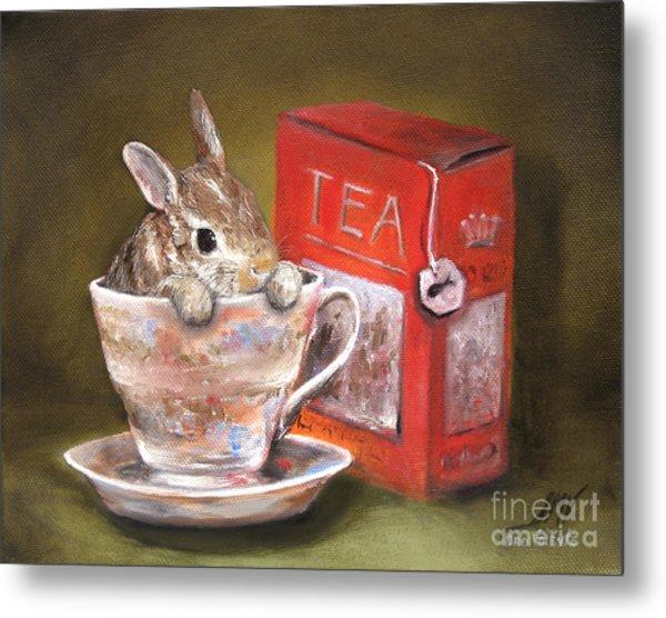 Tea Time Metal Print by Stella Violano