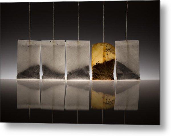Teascape Metal Print by Wieteke De Kogel