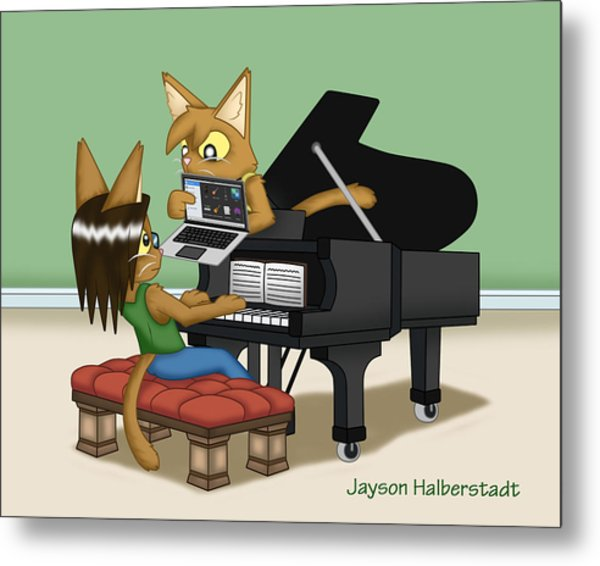 Musical Differences Metal Print
