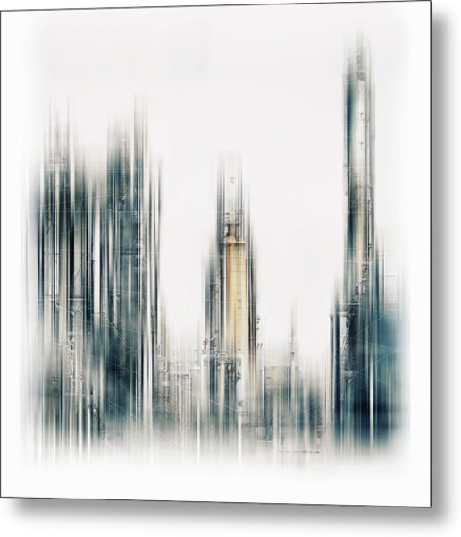 Techworld Metal Print
