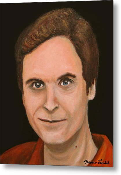 Ted Bundy Metal Print