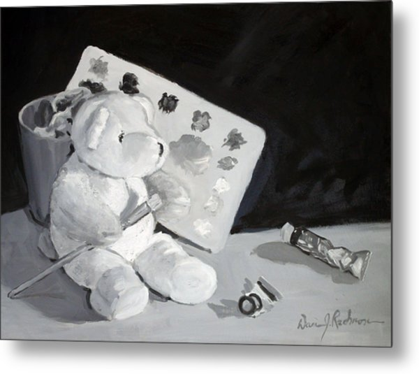 Teddy Behr The Painter #2 Metal Print