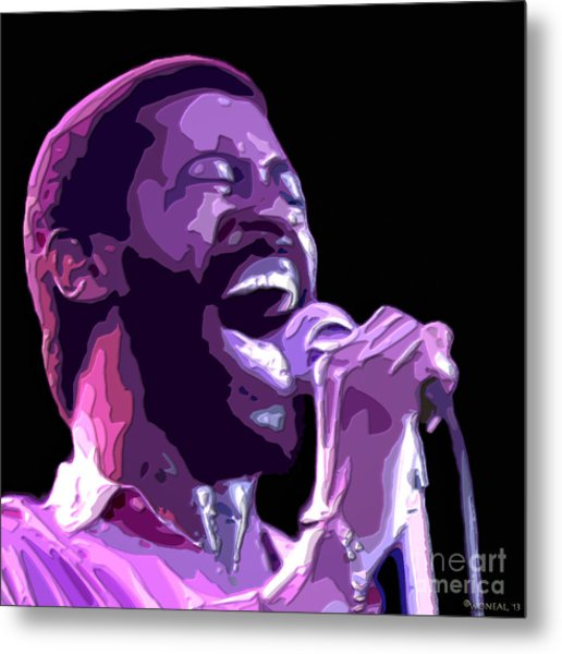 Teddy Pendergrass Metal Print