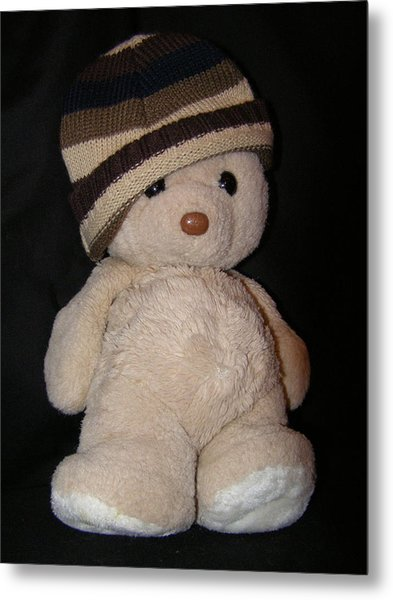 Teddy Wants To Hug You Metal Print by Catherine Ali