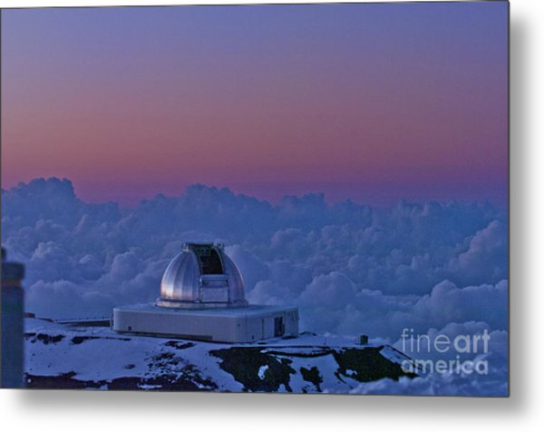 Telescope Metal Print by Karl Voss