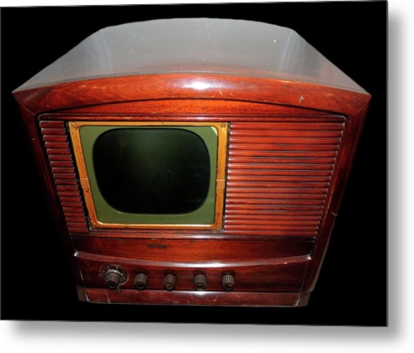 Television Manufactured By Philco Metal Print by Universal History Archive/uig