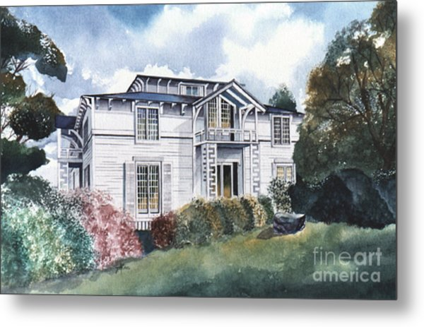 Tellico Johnson Mansion  Metal Print