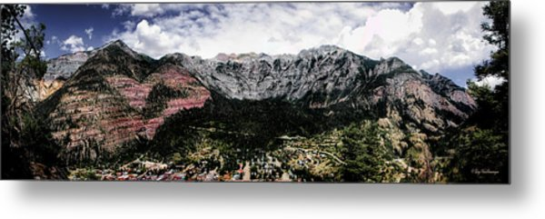 Telluride From The Air Metal Print