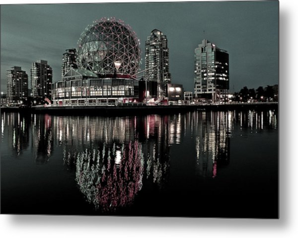 Telus World Of Science Metal Print