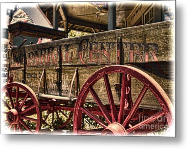 Temecula Wagon Metal Print
