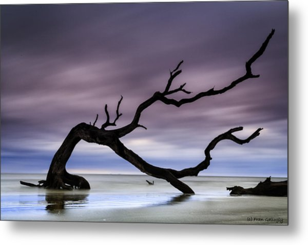 Tempest Tossed Metal Print