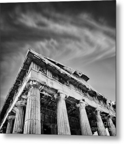 Temple Of Hephaestus- Athens Metal Print