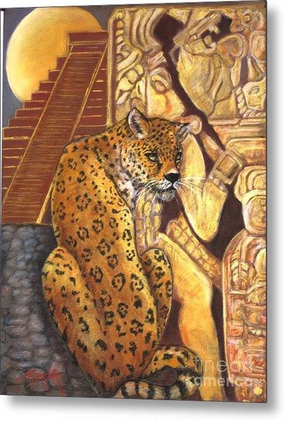 Temple Of The Jaguar Metal Print