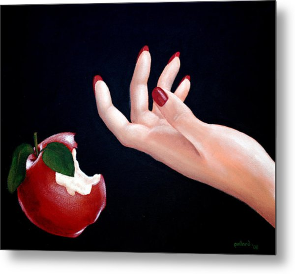 Temptation II Metal Print