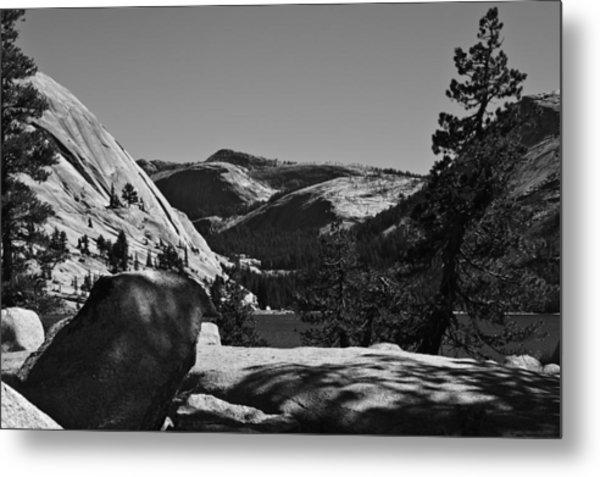 Tenaya Lake In Yosemite Metal Print