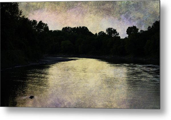 Tender Sundown Metal Print